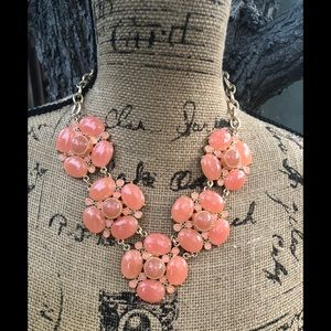 Bright flower necklace
